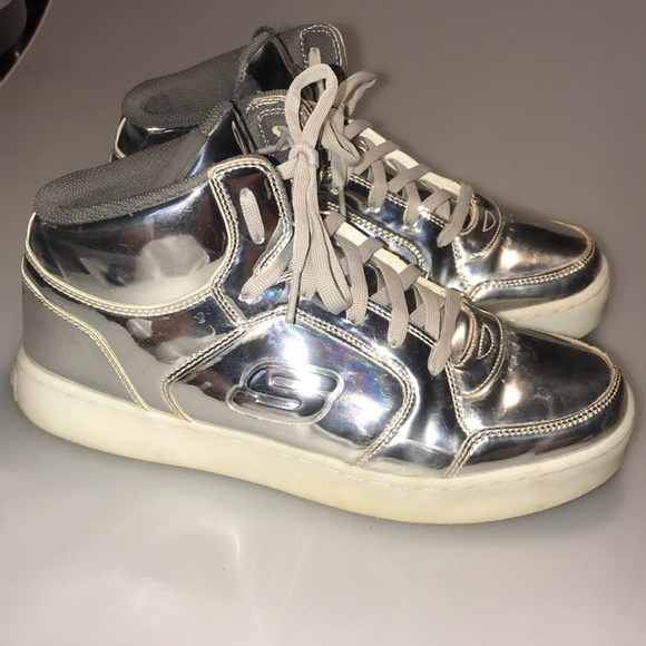 Skechers Shoes | Silver Reflective